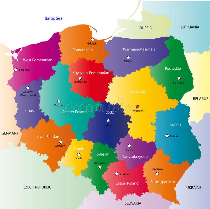 Regiuni Baza de Date firme Polonia