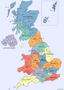 UK counties